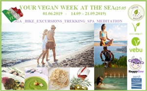 YOUR VEGAN WEEK AT SEA IN ITALY