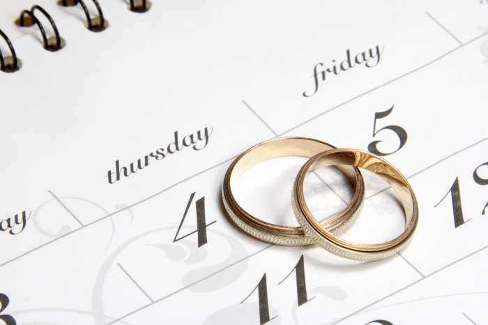 La scelta del giorno delle nozze