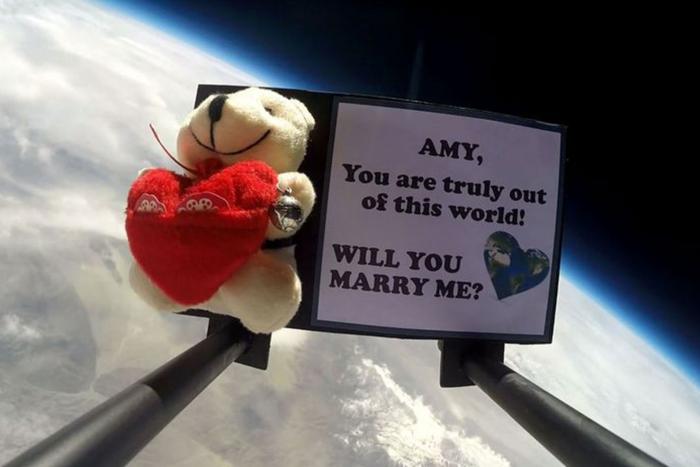 Proposte di matrimonio…spaziali!