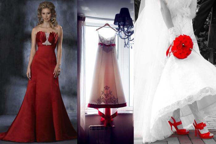 La sposa in rosso!