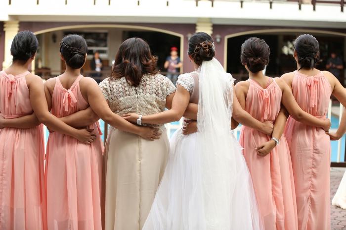 Galateo del matrimonio: le damigelle d'onore